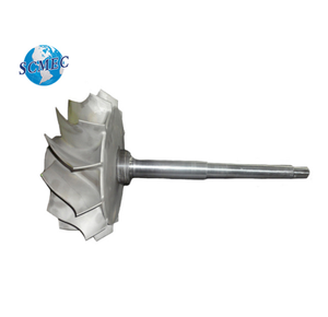 casting and machining compressor wheel/impeller for locomotive turbocharger spare parts