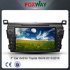 Wholesale 2 din car dvd gps with android car multimedia system for Toyota RAV4 2013-2014 support GPS, AUX ,Radio, DVD, SWC