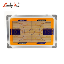 Two-Sided Aluminum Alloy Frame Magnetic Dry Erase Basketball Strategy Training Board Waterproof Tactic Board