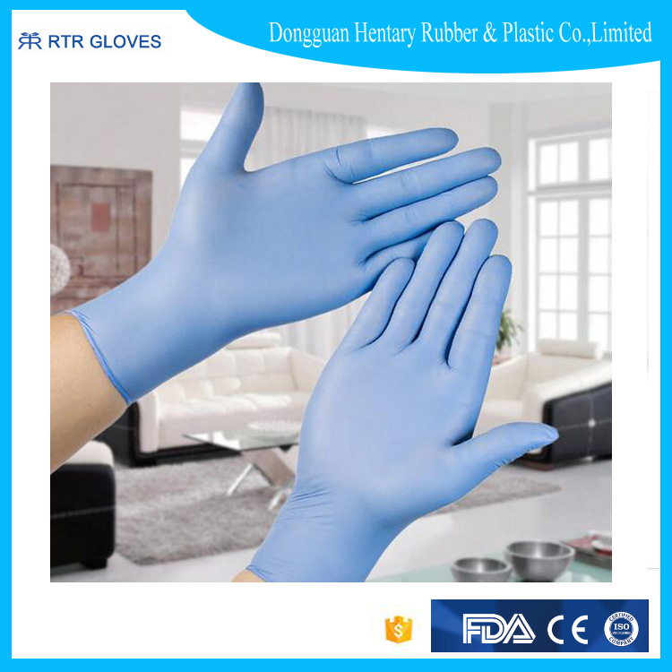 colored nitrile gloves disposable high quality