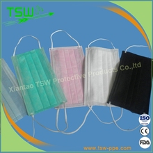 CE ISO disposable face mask surgical