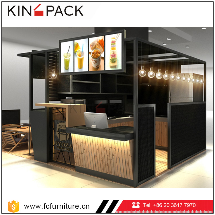 Superior coffee kiosk manufacturer for shop