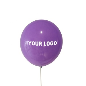 Cheap Inflatable Advertising Printed Helium Latex Custom Logo Balloon