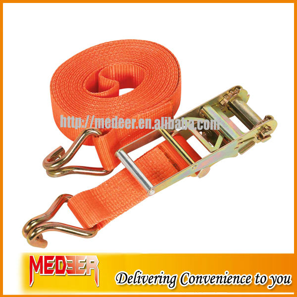 2INCH/50MM CAPACITY CARGO TIEDOWNS/ ROOF RACK HOLDING STRAP/ PE SOFT RATCHETING STRAP FOR SHIPPING