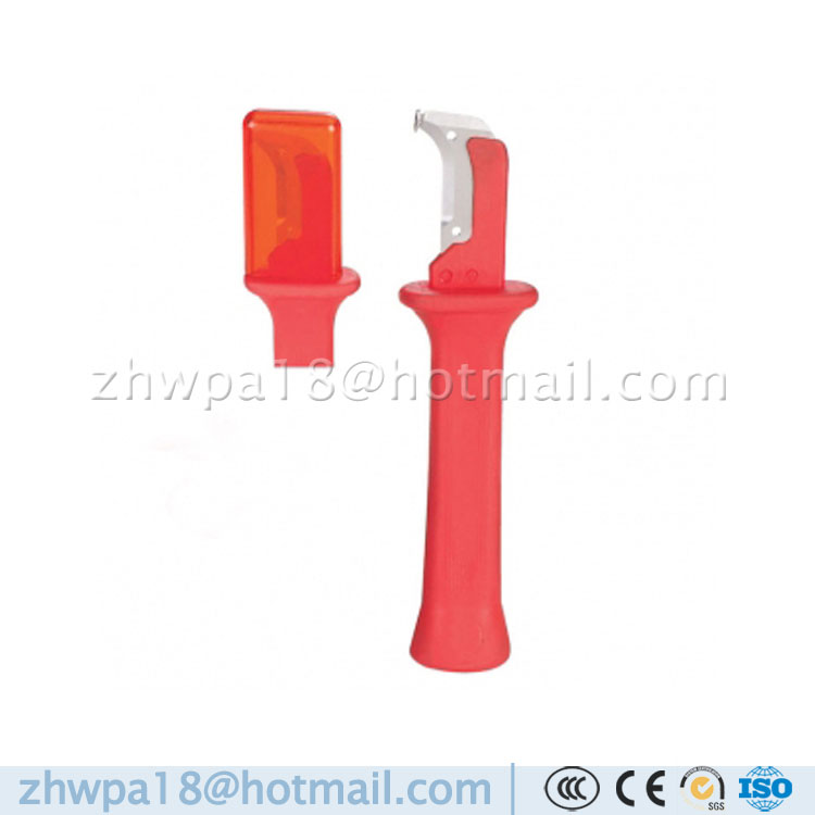 Manufacture VDE Cable Stripping Knife Hooked Blade Cable stripping knife