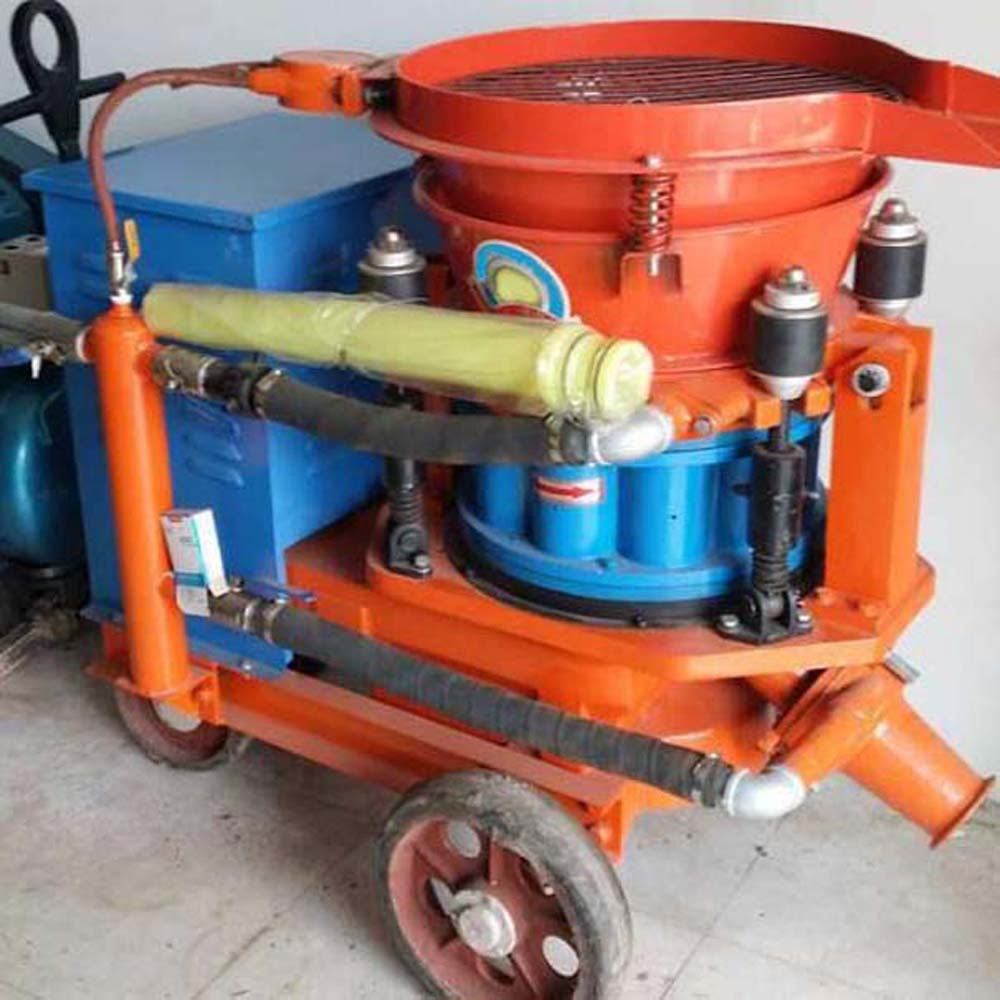 Truck-mounted Dry Shotcrete Machine with Automatic Feeding