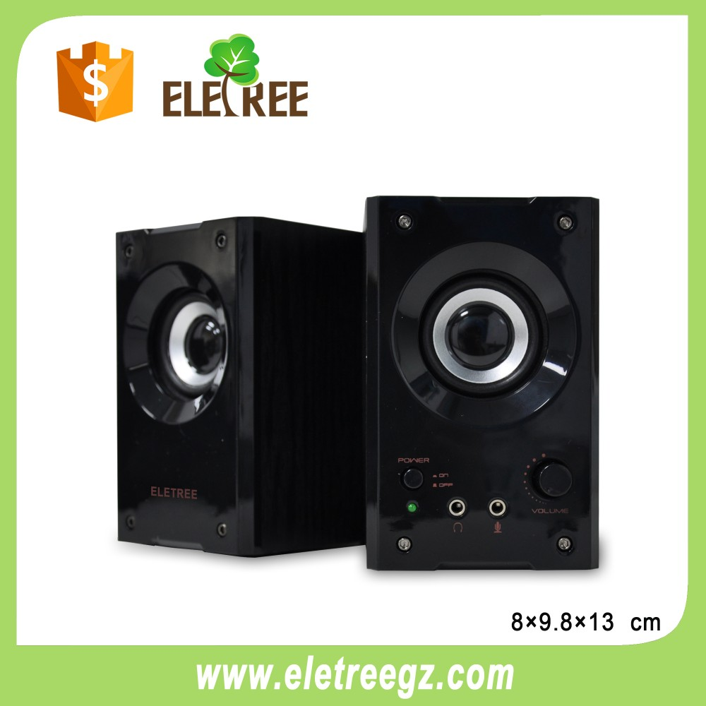 ELETREE Portable USB 3.5mm Speaker Subwoofer for Desktop Laptop Notebook Tablet FM Radio SmartPhones PC Speaker 620A