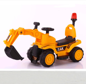 plastic baby car toys price kids excavator car /baby electrical pedal model ride on car
