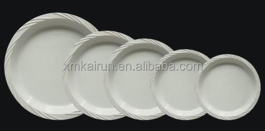 plastic disposable plates /disposable plates for wedding/disposable microwavable plates(Size 7\  & Plastic Disposable Plates /disposable Plates For Wedding/disposable ...