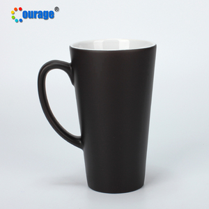 COURAGE 17oz colour changing conic mug price latte magic mug wholesale prices