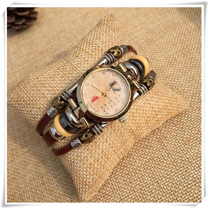Недавно дизайн кварцевый пряжка высококлассные свободного покроя алмаз браслет часы June16