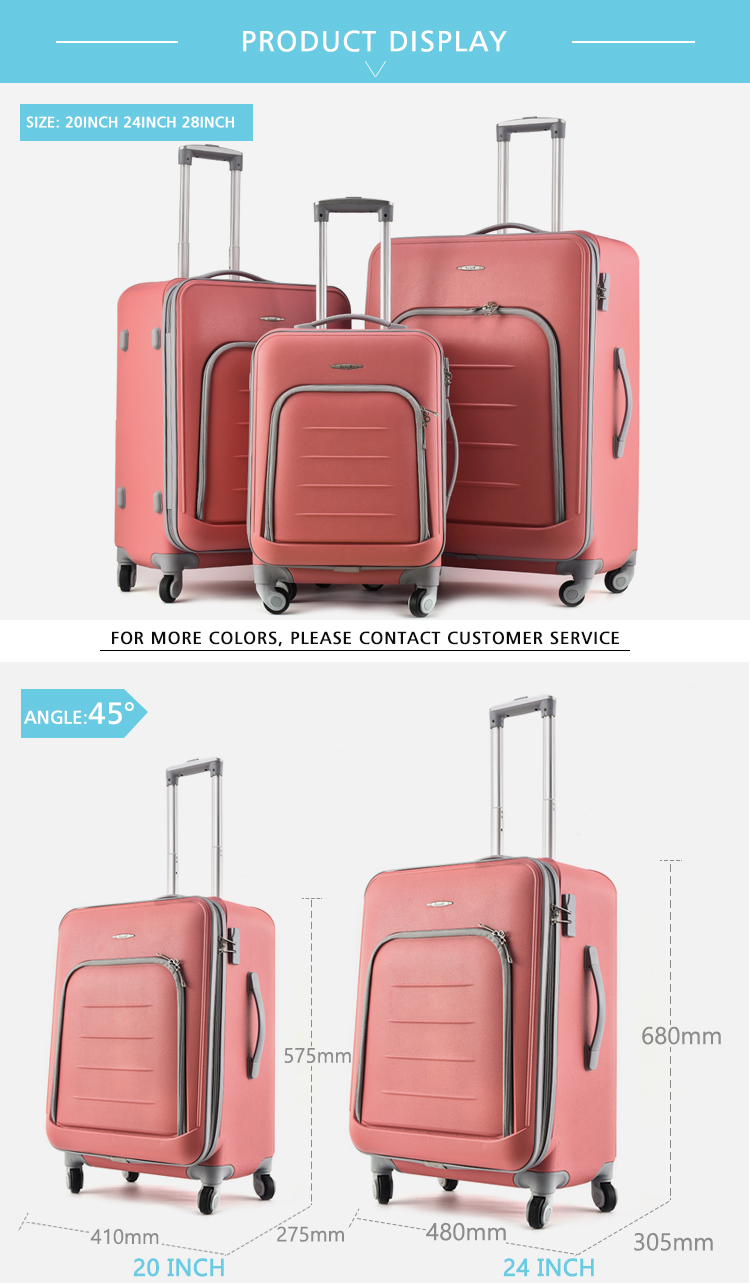 BUBULE   Carry-on  PP Travel  trolly bag travel luggage