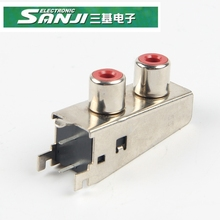 SANJI ISO9001/CE/ROHS/REACH/<span class=keywords><strong>MSDS</strong></span>/SGS RCA PIN JACK