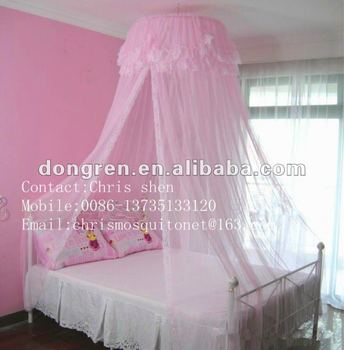pink lace decorated hanging girls mosquito nets bed canopies & Pink Lace Decorated Hanging Girls Mosquito Nets Bed Canopies - Buy ...