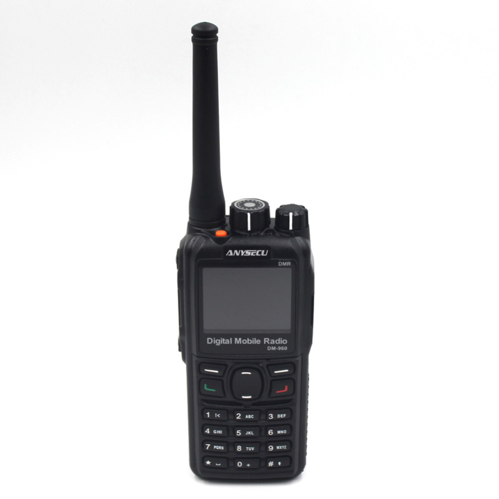 Cheap price digital radio DMR Radio Anysecu DM-960 UHF/VHF Compatible with MOTOTRBO with High Capacity Battery