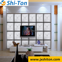 2016 Modern interior cheap interior wall paneling 3d wall and floor tile