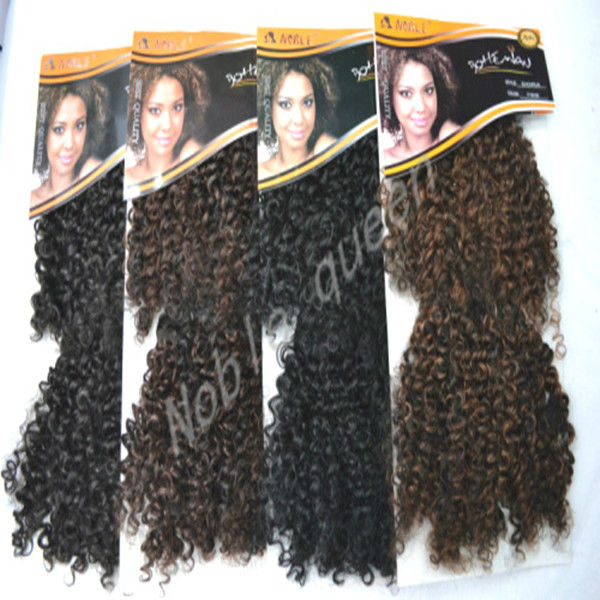 Top Quality Synthetic Hair Extension Noble Gold Dora Synthetic Hair