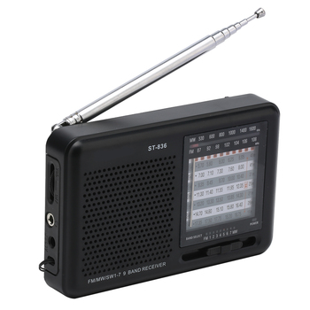 2018 Factory supply customized CE& ROHS certified good quality portable pocket shortwave am fm mw sw 9band radio