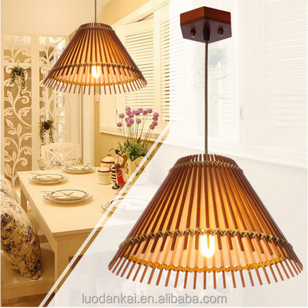Natural Bamboo Special Design Cage Arabian Style Pendant Lamp ...