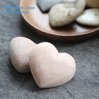 pebble wash stone pebble stone for carve heart shaped gift stone