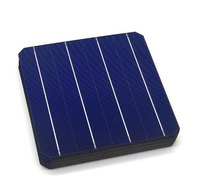 5BB 20-22%High Efficiency solar cell 6inch A Grade monocrystalline solar cell156x156mm for sale