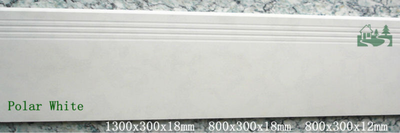 1300x300x18mm Granite Look Porcelain Non Slip Stair Treads