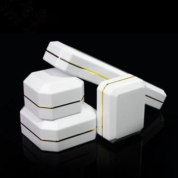 Custom Jewelry Gift Box Led Lamp Jewelry Box Bracelet Ring Necklace