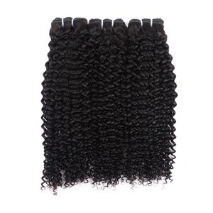 9A Great Brazilian Kinky Curly Hair Wave No Tangle No Shed For Black Color