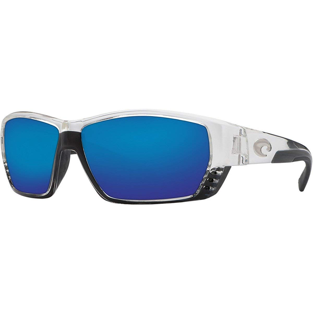 159eca54dfb0a Costa Del Mar Tuna Alley Sunglasses - Crystal Frame - Blue Mirror 580G lens