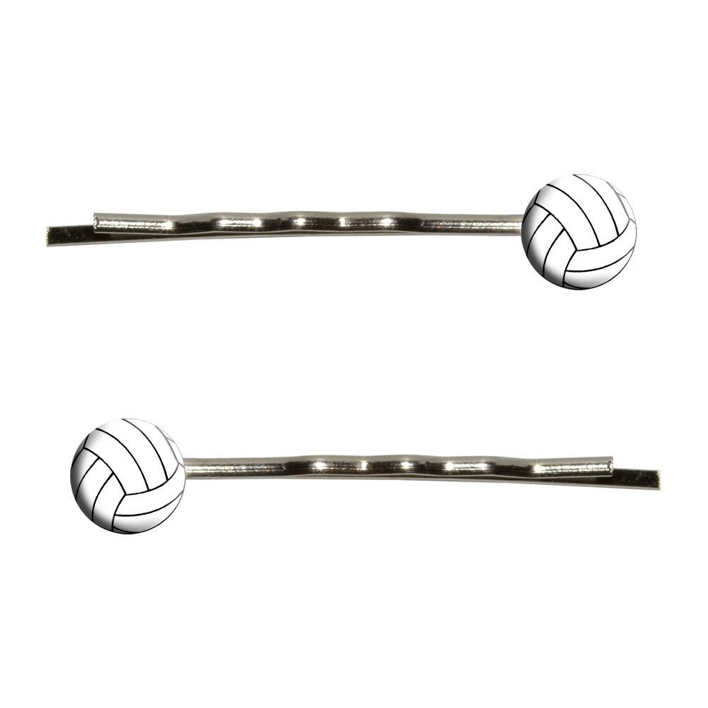Volleyball Bobby Pins Barrettes Hair Styling Clips