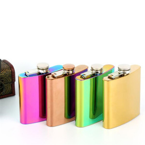 Wholesale Custom Stainless Steel Mini Hip Flask Liquor