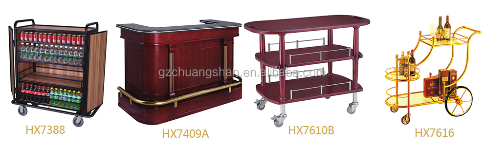 2-LAYERS Hotel luxury service Trolley