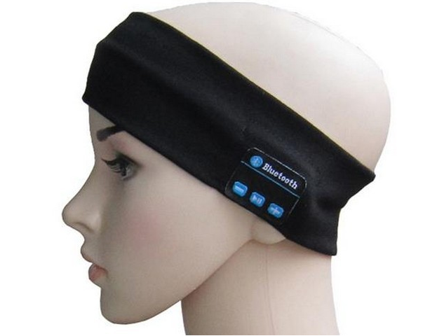 2021 Hot Hands-Free Sports Music <strong>Headband</strong> Wireless Hair Band Fitness Musical Sweatband Custom Bluetooth <strong>Headband</strong> with Headphone