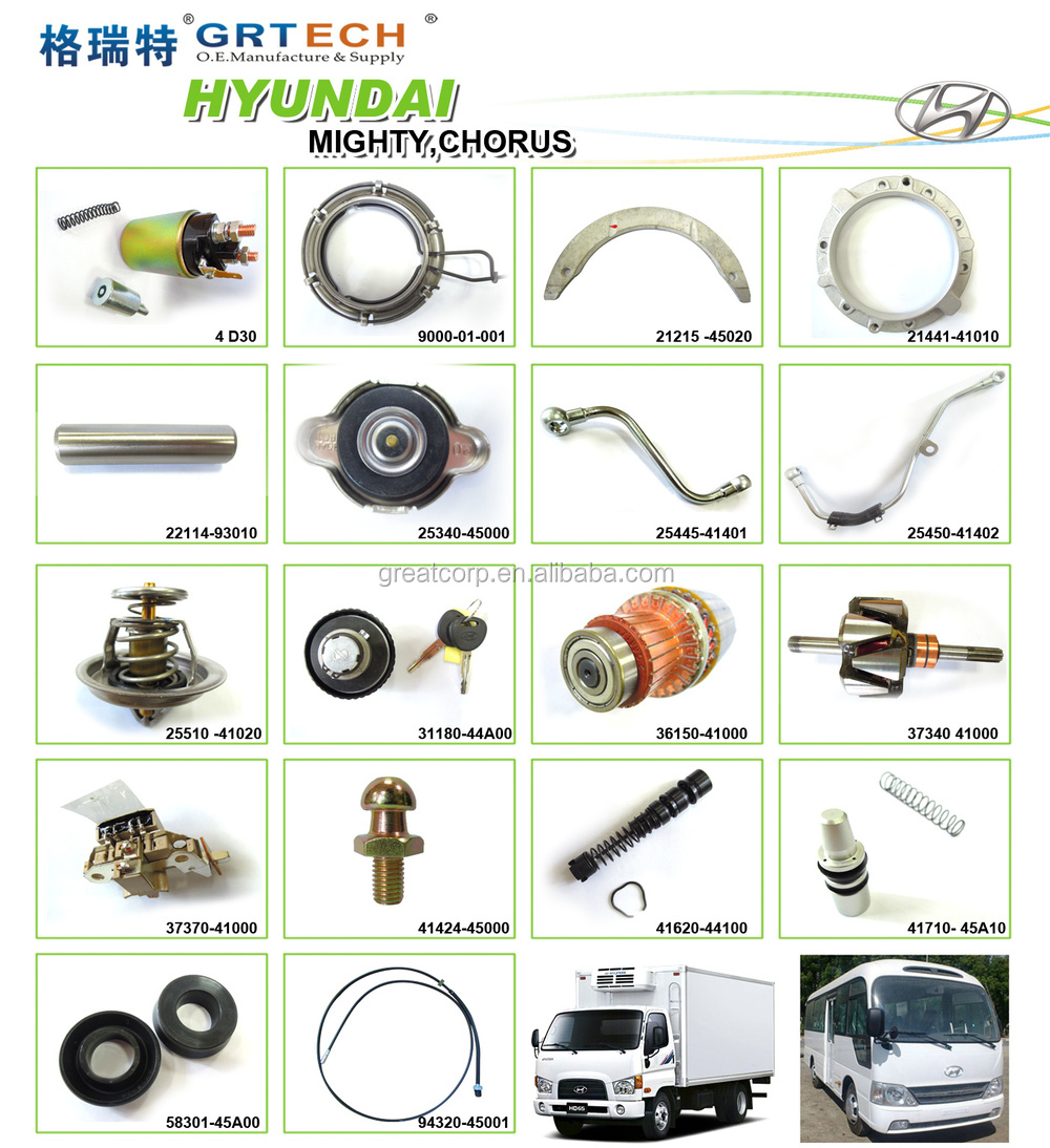 36150-41000 Engine Parts Starter Armature Assy For Hyundai - Buy ...