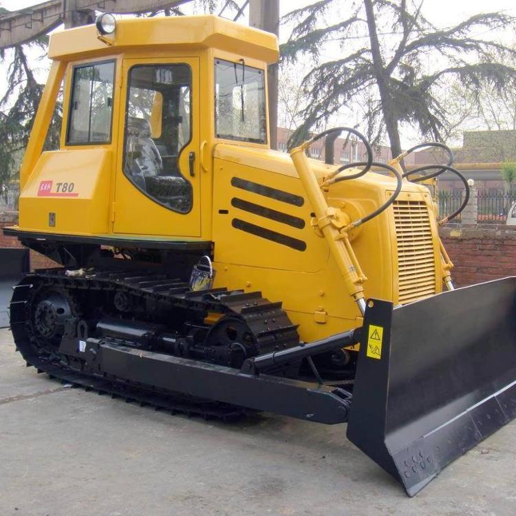 Cina YTO 90HP piccola pista trattore T80-3 mini bulldozer in vendita