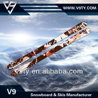 2017 the latest professional twintip snow skis