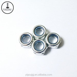China Factory Price for Wholesale Fasteners Carbon Steel Hex Head Locking Nuts DIN 982 Nylock Hex Nut or Lock Nuts