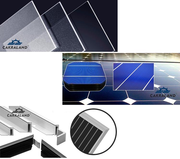Tier 1 Panel Günstige Monokristalline Painel 300 W Placa 300 Watt Preis Solar Panels