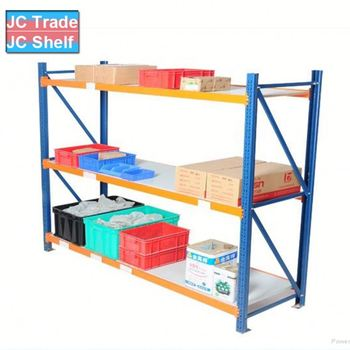 Metal Sturdy Warehouse Light Duty Multi- Level Iron Storage Rack