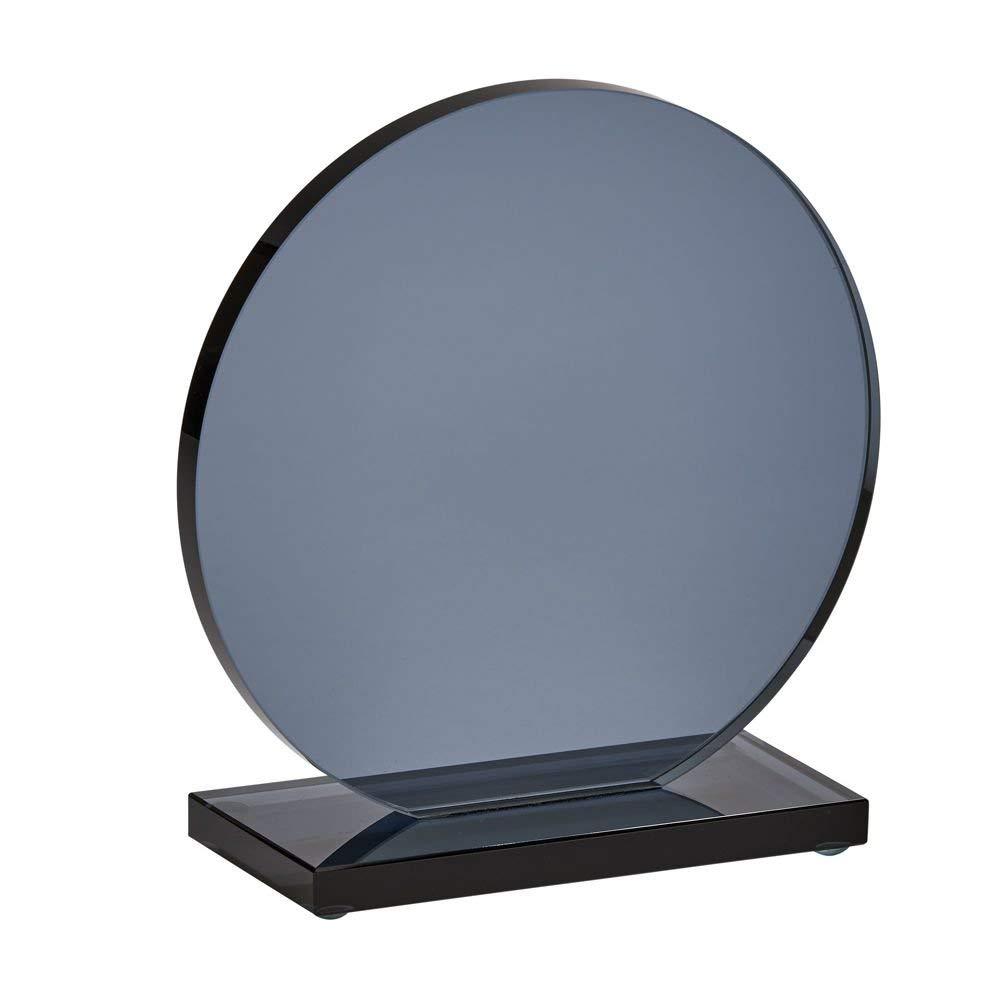 "Medium Smoked Orb Trophy, 6"" x 4.75"""