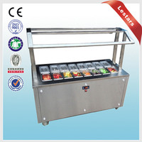 Refrigerated topping bar from factory supply good quality