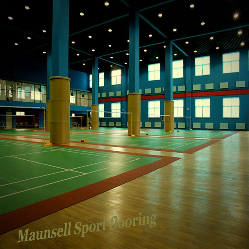 PVC Flooring for Badminton Sport Court