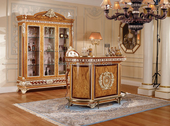 Vitoria Style Bar Furniture, Exquisite Carved wooden Bar Counter ...