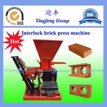 ECO1-25Worthy investment interlocking block making machine with superior quality
