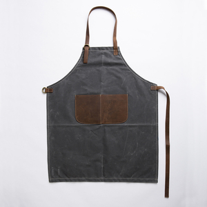 Hot sale free shipping cheap waxed canvas apron wholesale