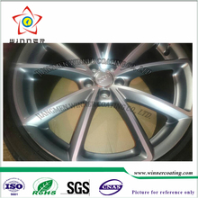 High gloss wheel Shiny Silver Powder Coating