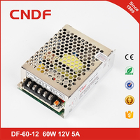 CNDF Ac power to DC power supply 60W 5V electric power source 5V 12A