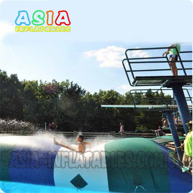 Custom Made Inflatable Aqua Blob/Water catapult/ Inflatable Water Launcher with Logo Printings