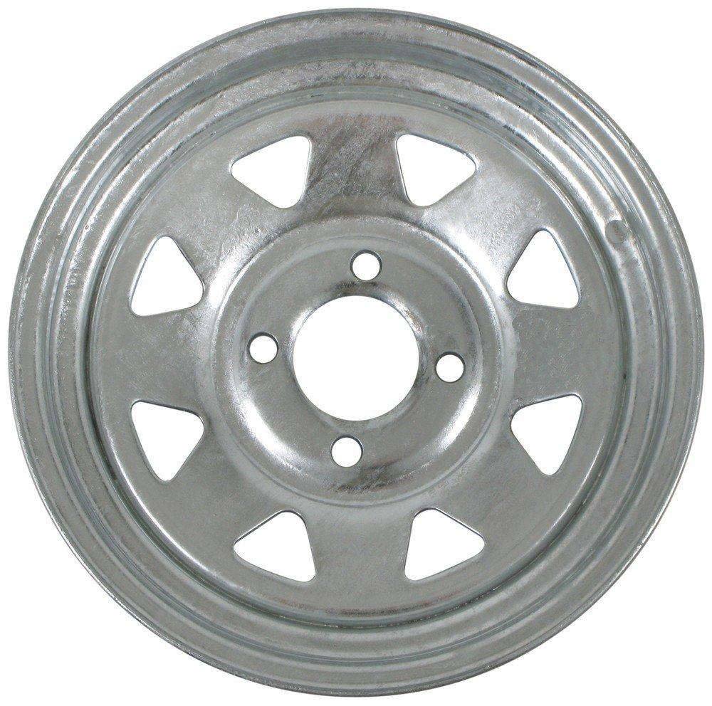 "eCustomRim Trailer Wheel Galvanized Rim 13 x 4.5 Spoke Style (4 Lug On 4"") Steel"