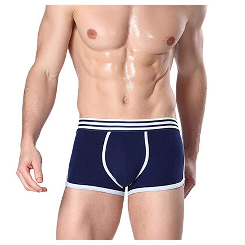 d5e59989d67b Get Quotations · Men Boxers Briefs, Inkach Breathable Mens Briefs Cotton  Boys Underwear Shorts Boxers Underpants